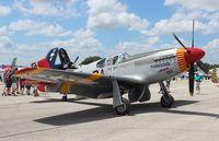 N61429 @ LAL - Tuskeegee Airmen P-51C Mustang at Sun N Fun