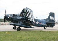 N62466 @ YIP - EA-1E Skyraider at Thunder Over Michigan