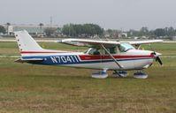 N70411 @ LAL - Cessna 172M