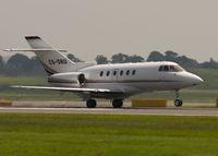 CS-DRU @ EGPH - Departing Edinburgh Airport runway 24. - by briand