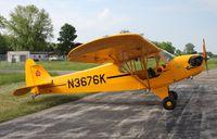 N3676K @ 61C - Piper J3C-65 - by Mark Pasqualino