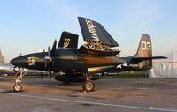 N700F @ LAL - Grumman F7F-3 Tigercat