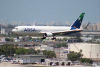 PR-ABD @ MIA - ABSA Cargo Brazil 767-300