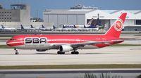 TF-LLB @ MIA - Santa Barbara Venezuela 767-300