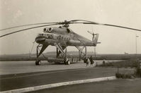 CCCP-04102 @ EBBR - This was the second prototype of the Mi-10. The helicopter landed at Brussels Airport on the way from Russia to the Paris Airshow in 1965. - by Rigo VDB