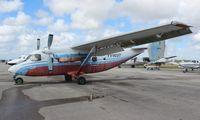 YV403T @ TMB - Polish built version of the Antonov 28 from Venezuela
