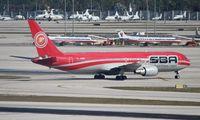 YV528T @ MIA - Santa Barbara 767-300ER