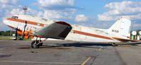 N57626 @ KPMB - Douglas DC-3 on the ramp in Pembina, ND. - by Kreg Anderson