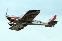 D-MYSA @ EDMT - Evektor EV-97 Team Eurostar [2008-3225] Tannheim~D 24/08/2013 - by Ray Barber