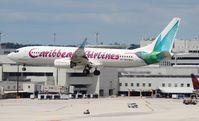 9Y-GEO @ MIA - Caribbean 737-800