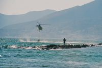 SE-JJH - SE-JJH while refilling in front of Formia (Italy). - by J-F GUEGUIN