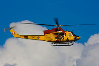 146439 - Rescue exercise over St. Lawrence river in Quebec City. - by Marius Gagnon