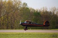 N38905 @ KFKL - The Monocoupe 90 AL N38905 is FAA licensed aerobatic and is in Franklin Pa . - by Piper Schofield