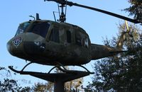 65-9770 - UH-1H Iroquois Huey on a stick in Ozark Alabama on Hwy 231 - by Florida Metal