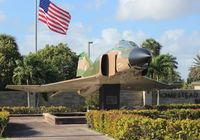66-0267 @ HST - F-4D Phantom at Homestead AFB - by Florida Metal