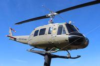 66-16161 - UH-1 Huey at Battleship Alabama memorial - by Florida Metal