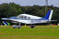 OO-TWA @ EGBP - Piper PA-28-180 Cherokee E [28-5608] Kemble~G 11/07/2004