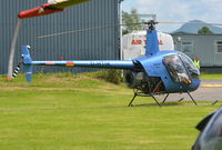 D-HTIK @ EGCW - D-HTIK at Welshpool 8.6.14 - by GTF4J2M