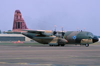 345 @ EGVA - Royal Jordan AF C-130H 345 on the runway of RAF Fiarford - by Nicpix Aviation Press  Erik op den Dries