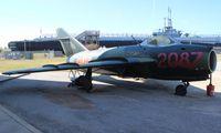 2087 - Mig-17 at Battleship Alabama Museum - by Florida Metal