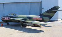 2087 - Mig 17 at Battleship Alabama Museum - by Florida Metal