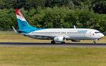 LX-LGU @ ELLX - departure via RW24