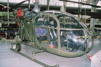 A11 - Alouette II (OT-AAG) preserved in belgian Musée Royal de l'Armée. - by J-F GUEGUIN
