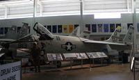 145347 - F-8A Crusader at Battleship Alabama - by Florida Metal