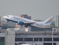 C6-BFD @ MIA - Bahamas Air 737-500