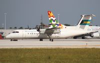 C6-BFJ @ MIA - Bahamas Air Dash 8 - by Florida Metal