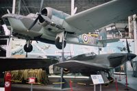 10038 - Bolingbroke in c/s of RAF 139 squadron preserved in Belgian Musée Royal de l'Armée. - by J-F GUEGUIN