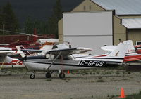 C-GFGS @ CYXY - Tied down at Whitehorse, Yukon. - by Murray Lundberg
