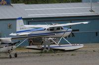 C-FALG @ CYXY - Stored at Whitehorse, Yukon. - by Murray Lundberg