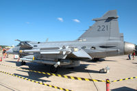 39221 @ ESDF - Saab JAS39C Gripen of the Swedish Air Force on the platform of Ronneby Air Base - by Henk van Capelle