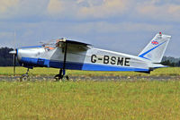 G-BSME @ EGBP - Bolkow Bo.208C Junior [596] Kemble~G 19/08/2006 - by Ray Barber