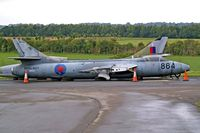 G-BWGK @ EGBP - Hawker Hunter GA.11 [HABL003032] (Delta Jets) Kemble~G 20/08/2006 - by Ray Barber
