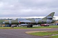 XL586 @ EGBP - Hawker Hunter T.7 [41H/693736] (Delta Jets) Kemble~G 20/08/2006