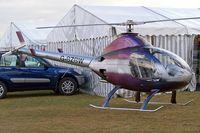 G-BZBW @ EGBP - Rotorway 162F Exec [6415] Kemble~G 18/08/2006