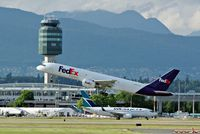 C-FMEP @ YVR - Take off from YVR - by metricbolt
