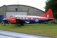 G-BVXR @ EGBP - De Havilland DH.104 Devon C.2 [04436] Kemble~G 20/08/2006