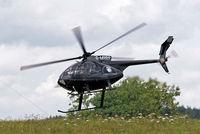 G-MRRR @ EGBP - MD Helicopters 369E [0473E] Kemble~G 19/08/2006