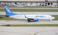 C-FTCX @ FLL - Can Jet 737-800