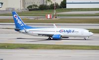 C-FXGG @ FLL - Canjet 737-800 - by Florida Metal