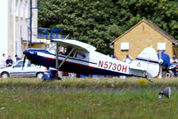 N5730H @ EGBP - Piper PA-16 Clipper [16-342] Kemble~G 19/08/2006 - by Ray Barber