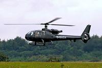 G-GAZA @ EGBP - Aerospatiale SA.341G Gazelle [1187] Kemble~G 20/08/2006