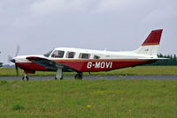 G-MOVI @ EGBP - Piper PA-32R-301 Saratoga SP [32R-8313029] Kemble~G 20/08/2006 - by Ray Barber