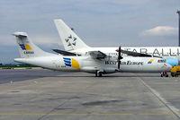 LX-WAB @ LOWW - Aerospatiale ATR-72-201F [227] (West Air Europe) Vienna-Schwechat~OE 13/09/2007