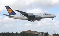 D-AIMC @ MIA - Lufthansa A380