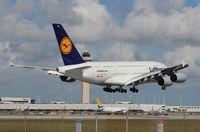 D-AIME @ MIA - Lufthansa A380