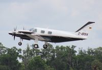 D-IBSA @ LAL - PA-31T - by Florida Metal